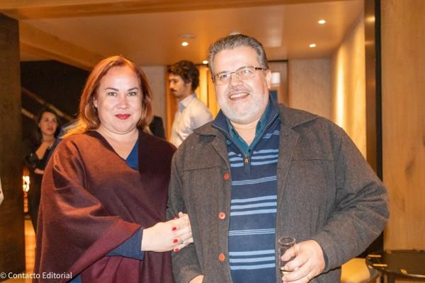 Gily Segovia de Oppy Tour Operator y Luis Cardozo de Intertours