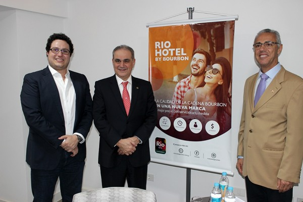 Philippe Hammoud, Alceu Vezozzo Filho y Chariff Hammoud