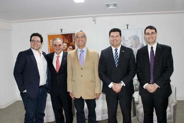 Philippe Hammoud, Alceu Vezozzo Filho, Chariff Hammoud, Fernando Macedo y Wellington Aquino
