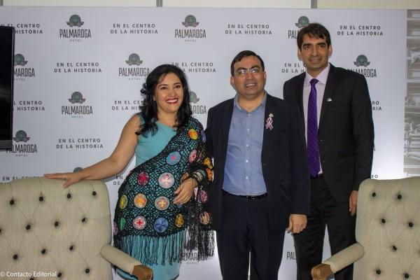 Sofia Montiel, Emilio Yegros y Carlos Cardozo