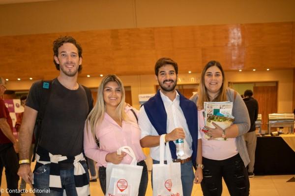 Santiago Vera, Sueli Benitez, Marcelo Castelnovo y Alejandra Molas