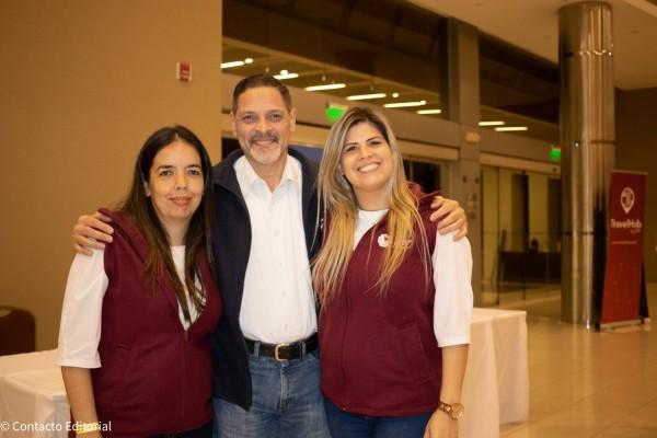 Graciela Zelaya, Dario  Villagra y Laura Davalos