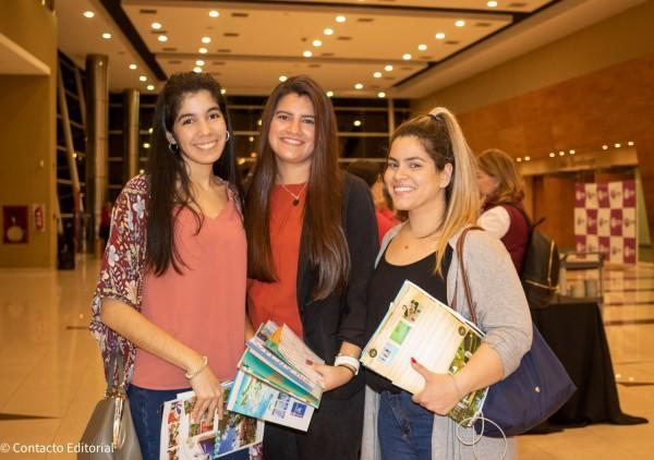 Paulina Sanchez, Adriana Maldonado y Jessica Cortesi