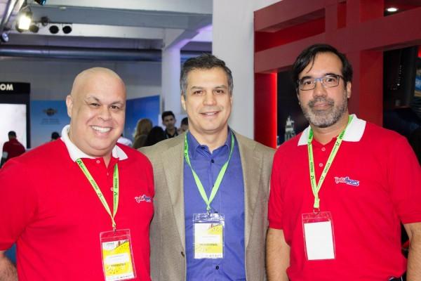 Alejandro Salza, Nelson Ferreira y Alejandro Ocampos