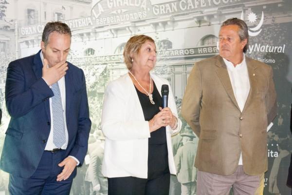 Ministra de Turismo de Uruguay Liliam Kechichián