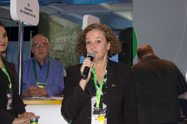 Leila Holsbach, asesora da Dirección de Inteligencia Competitiva y Promoción Turística de Embratur