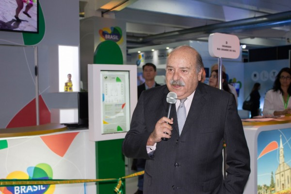 Carlos Alberto Simas Magalhães, embajador de Brasil en Paraguay