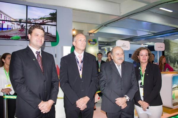 Jose Carlos Brunetti, Romulo Campos, Carlos Alberto Simas Magalhães y Leila Holsbach