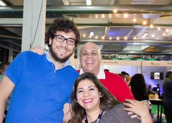 Eligio Torres, Alejandra Ayala y Alejandro Salza