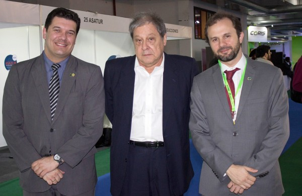 Fernando Macedo, Franciso Ramirez y Luiz Fellipe Flores Schmidt