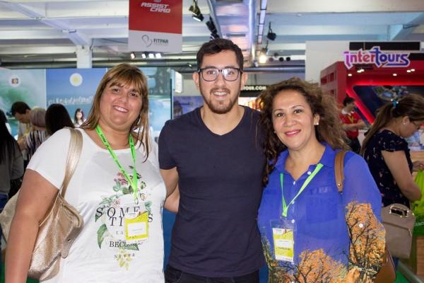 Viviana Di Fonzo, Vicente Ayala y Maria Lis Bernal