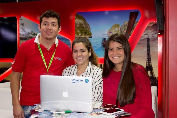 Francisco Alegre, Jessica Cortesi y Adriana Maldonado