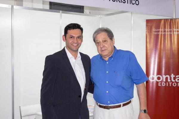 Nestor Noguera de la Senatur y Francisco Ramirez Vouga