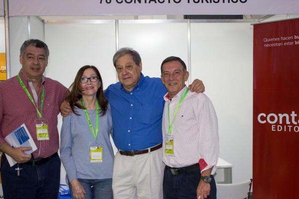 Osvaldo Morinigo, Maria Evelina Rojas, Francisco Ramirez Vouga y Victor Pavon