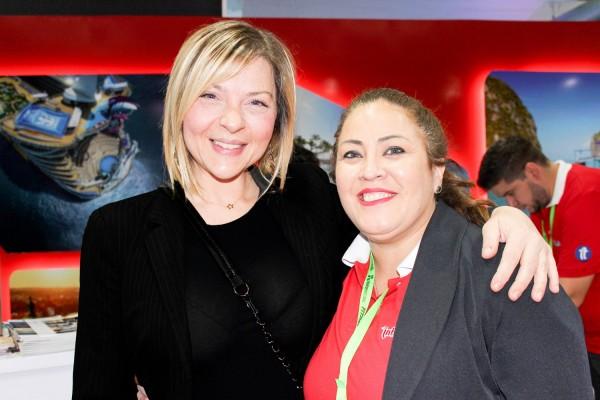 Fabrizia Harika y Andrea Mareco