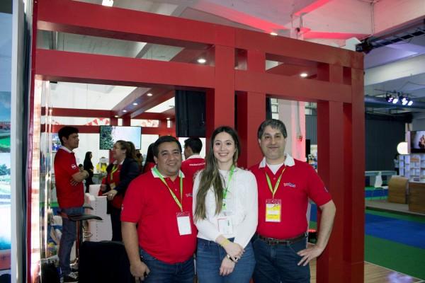 Cesar Franco, Rocio Ramirez Rojas y Walter Rejala