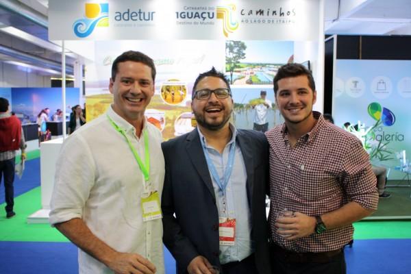 David Prono, Guillermo Gordillo y Joaquin Prono