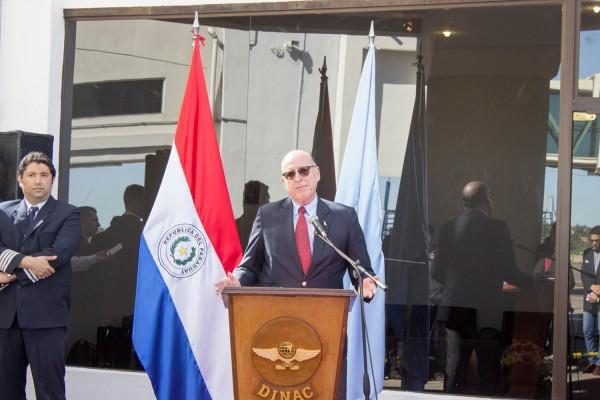 Luis Aguirre, presidente de la DINAC