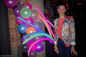 Maral presenta la Neon Party de RIU