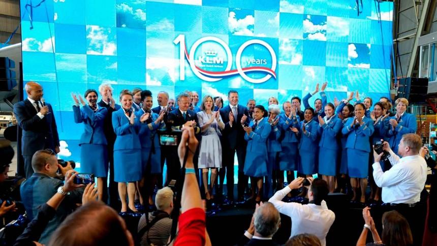 En octubre, KLM celebrará 100 años de exitosa trayectoria