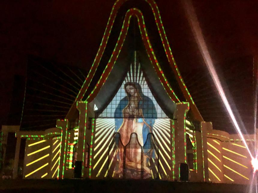 Este sábado, Itaipú lado brasileño  inicia oficialmente su Navidad de Luces