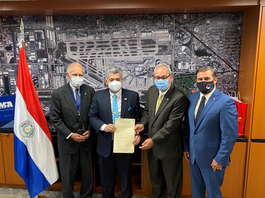 El Silvio Pettirossi y el MIA firman acuerdo