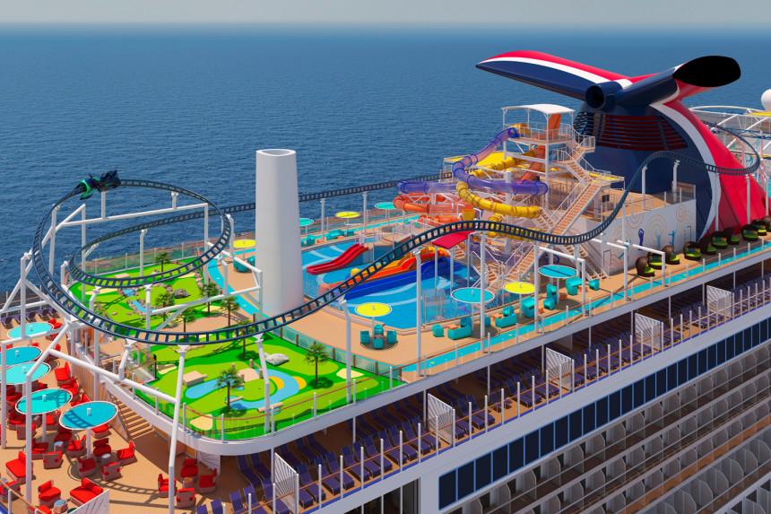 Carnival Cruise Line celebra viaje inaugural de su nuevo buque insignia, Mardi Gras