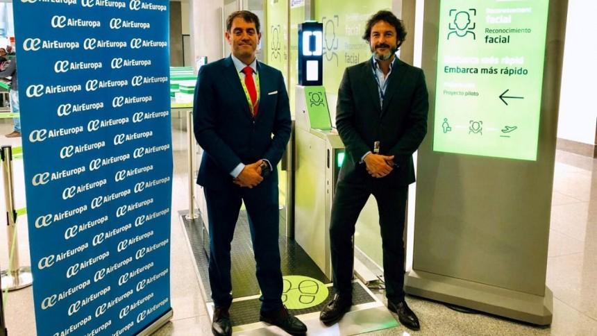 Air Europa agilizará los procesos de embarque con tecnología biométrica