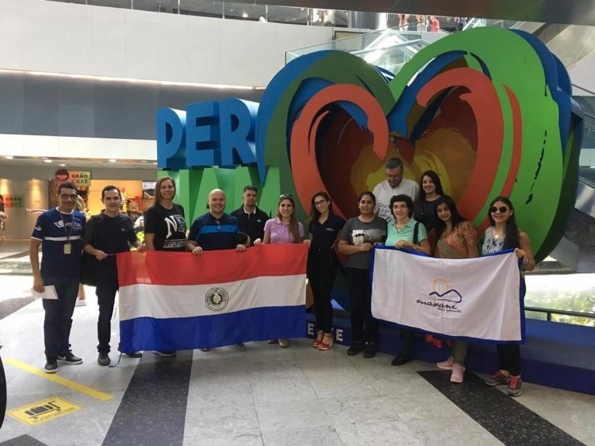 Agentes en el Aeropuerto de Recife