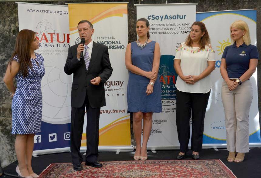 Victor Pavon, Presidente de Asatur durante el evento