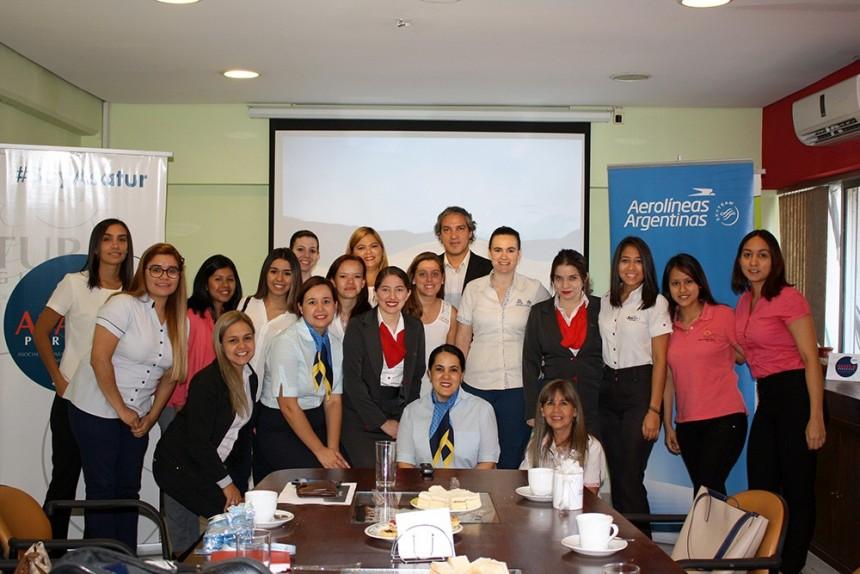 Aerolíneas Argentinas presenta charla de actualización en Asatur