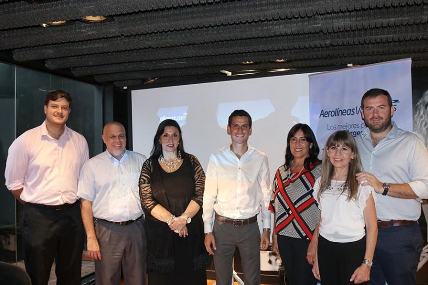 José Brunetti, Alejandro Salza, Elida Alvarez de Ron, Carlos Pavon, Adriana Quevedo, Stella Ruiz, Gastón de Chazal