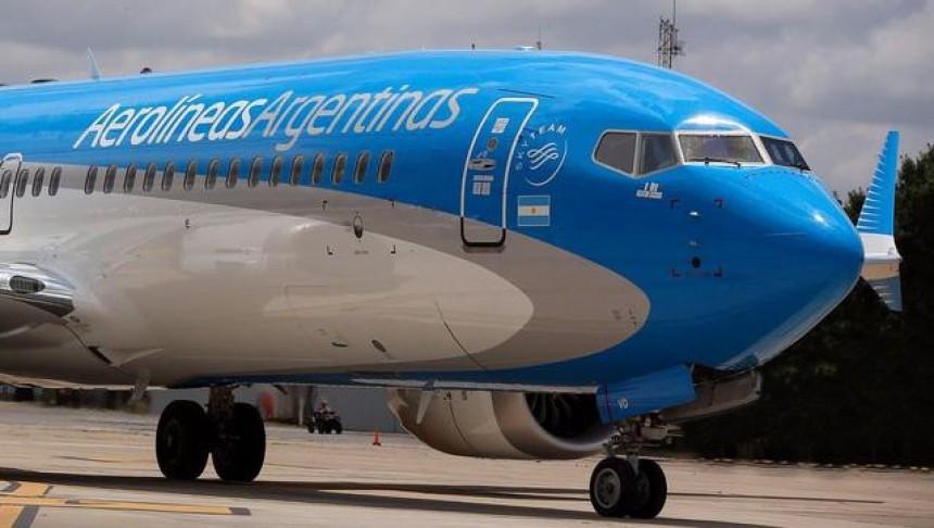 Aerolíneas Argentinas estrena su nuevo Boeing 737MAX 8