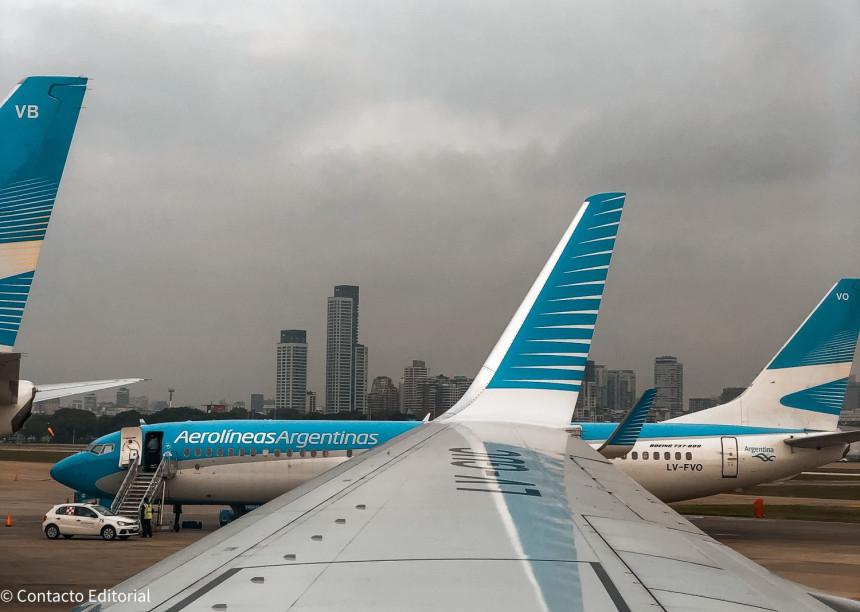 Aerolíneas Argentinas transportó más de un millón de pasajeros en mayo