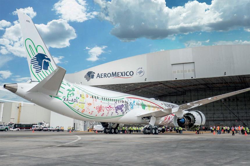 Dreamliner de Aeromexico