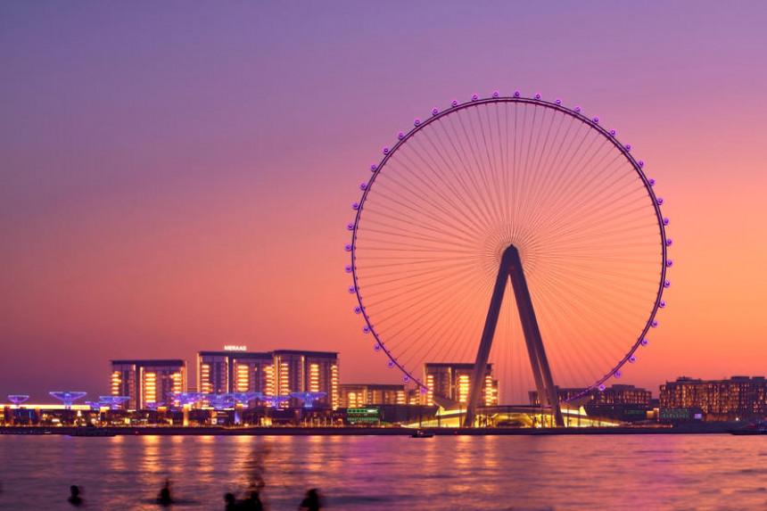 La rueda más grande del mundo abrirá en Dubai