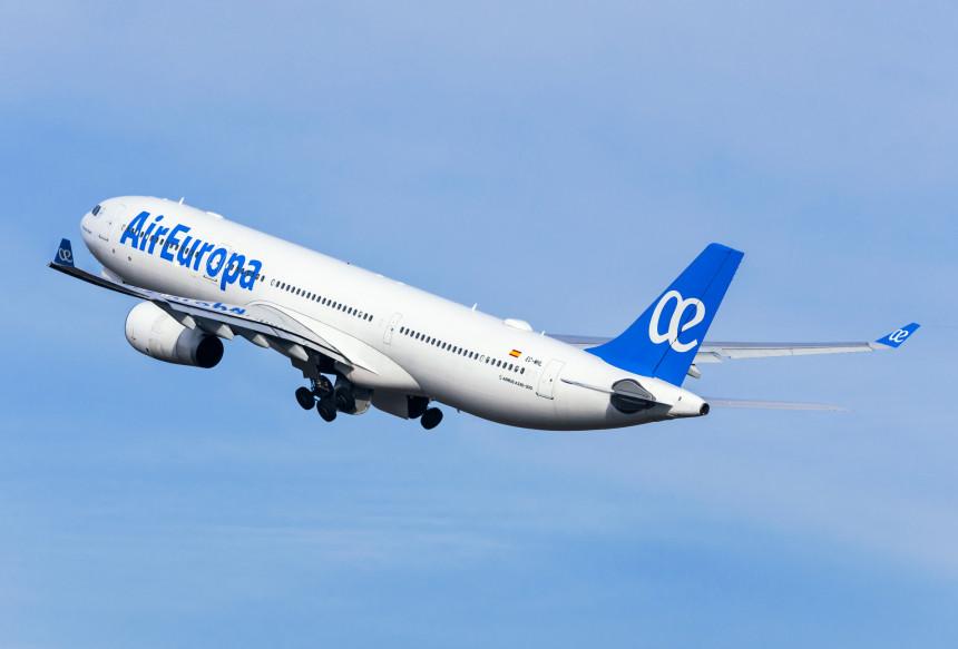 Air Europa reactiva sus rutas nacionales y vuelos europeos