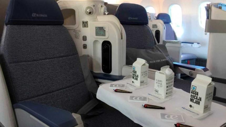 Air Europa, reconocida por su compromiso medioambiental
