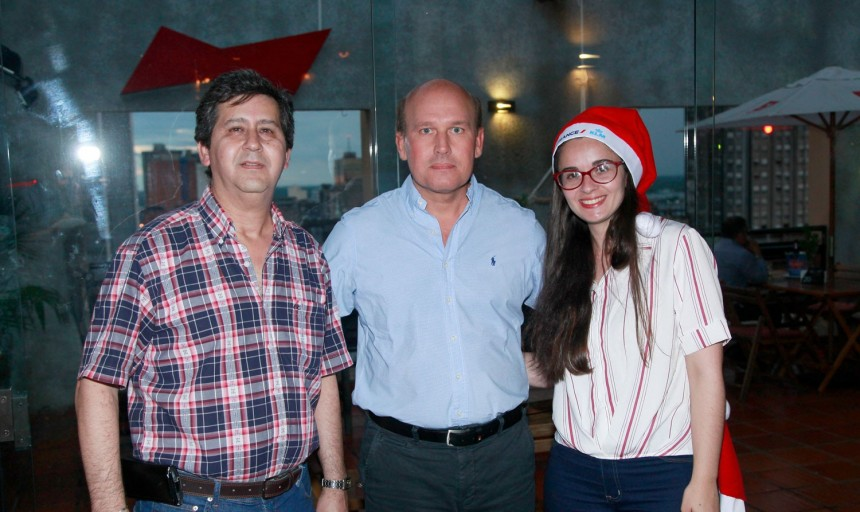 Ernesto Ruiz, Robert Bosch y Nerea Gil // Fotografía COPANU
