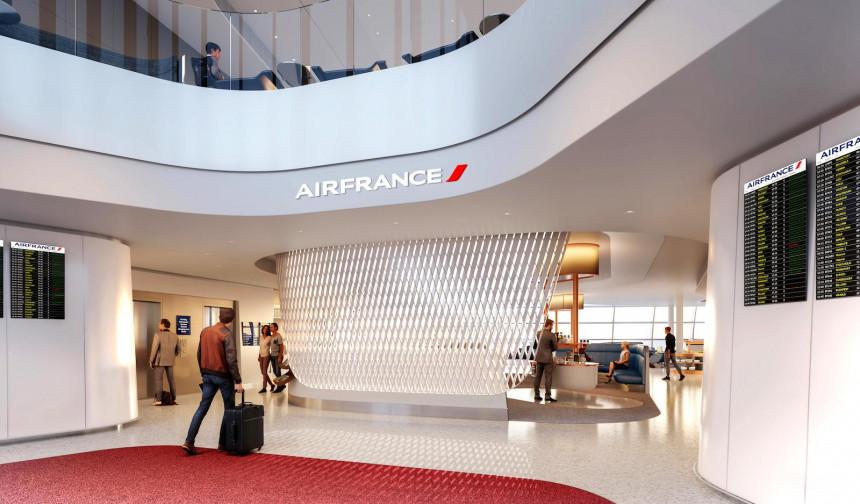 Air France cuenta con una nueva sala vip en el Aeropuerto Charles de Gaulle