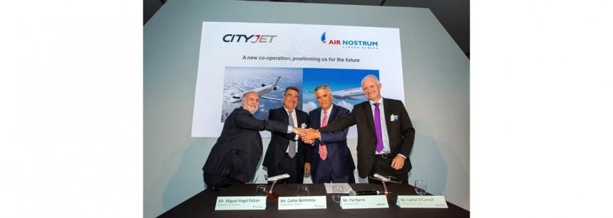 Ejecutivos de Air Nostrum y CityJet