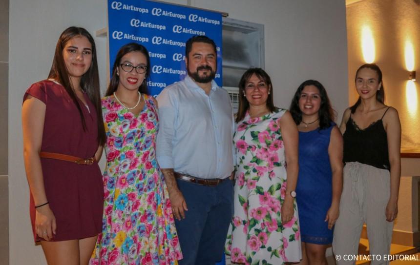 Equipo de Air Europa Paraguay