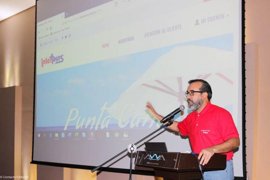 Alejandro Ocampos, durante la presentación