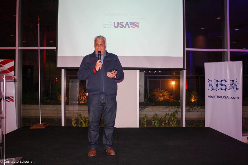 Alejandro Salza, durante la presentación del evento