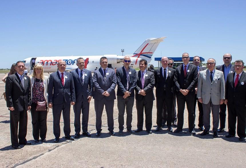 Amaszonas devuelve status internacional a aeropuerto de Corrientes
