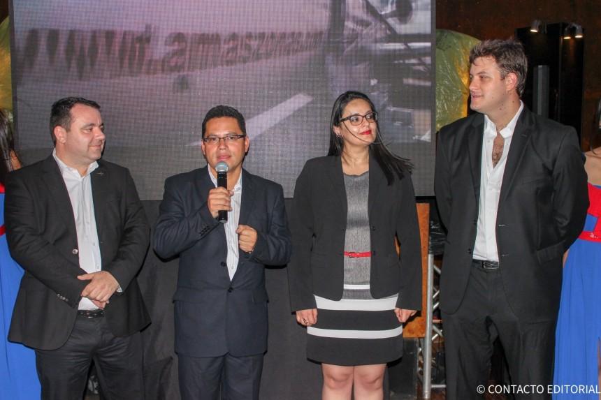 Bratislav Obrenovic, Eddy Luis Franco,  Inés Oyarvide y Jose Carlos Brunetti