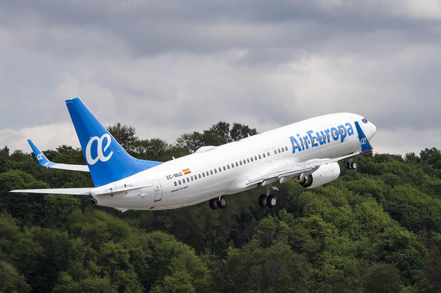 Air Europa anuncia cancelación de vuelos a Iguazú