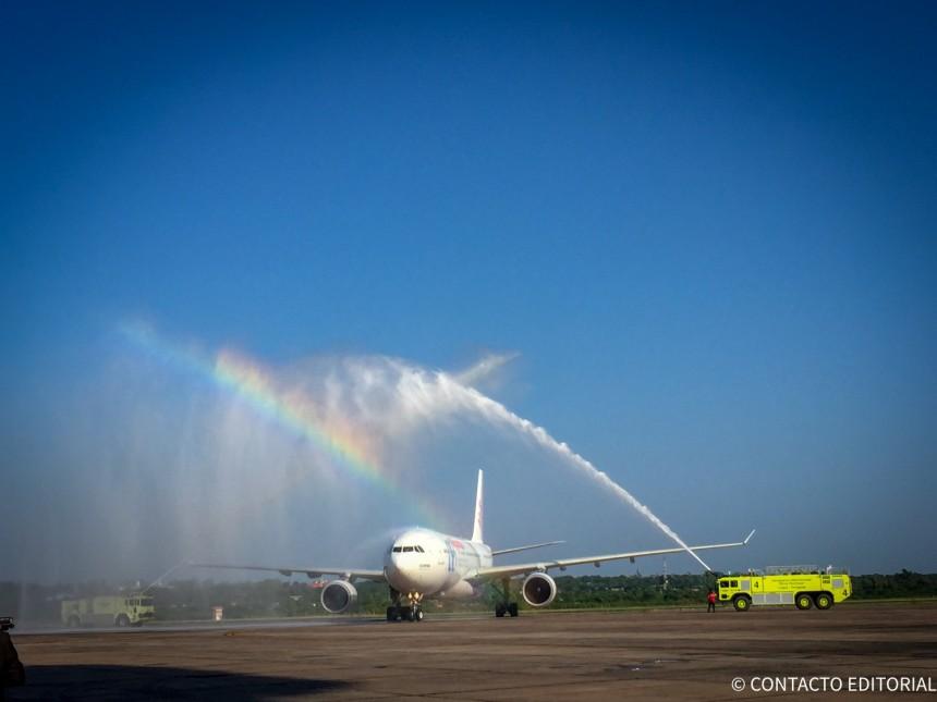Air Europa conectará Madrid e Iguazú vía Montevideo en abril de 2020