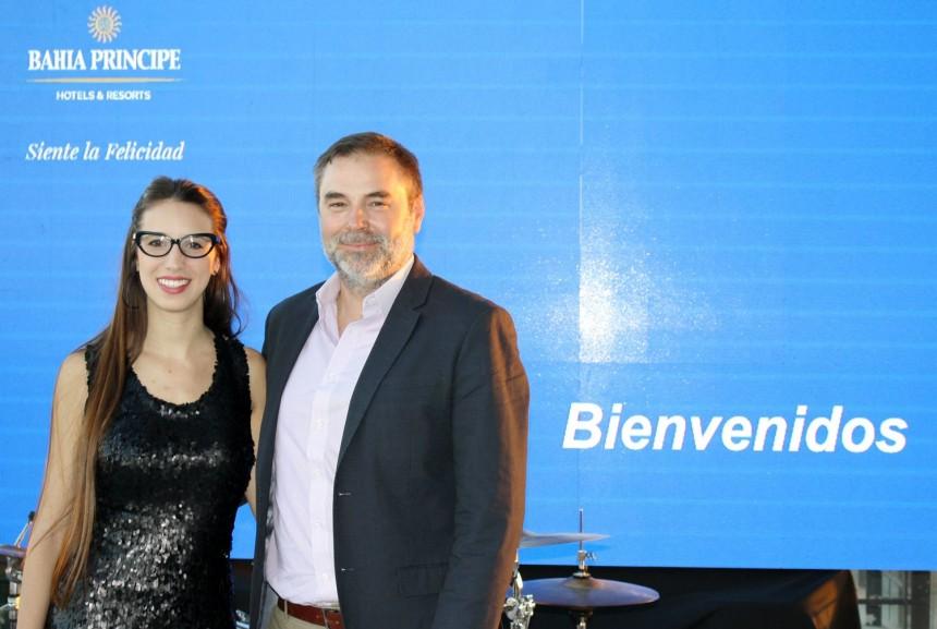 Gustavo Mesa y Patricia Repetto