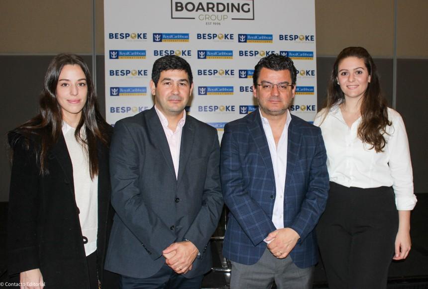 Delfina Bedoya, Santiago López Escrivá, Alberto Muñoz y Ana Oller